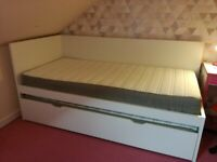 Ikea Flaxa Single Bed with pull out bed underneath.