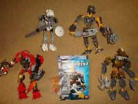 LEGO Bionicles / Hero Factory - bundle - 8571 / 8730 / 8918 / 2194