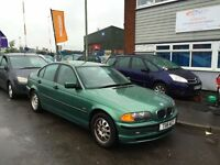 BMW 318 SE 5 Door Saloon Fsh Leather Alloys Air con 3 Month Warranty 12 Month Mot