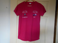Selection of Four Unisex Technical T-shirts - Size Small