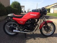 Kawasaki gpz305 GPz 305 Cafe racer Streetfighter £700 ono 1 years MOT 29000 miles