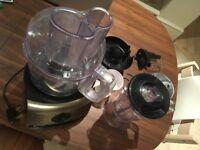 Tefal Vita Compact Food Processor, blender, citrus press, mini-chopper, whisk