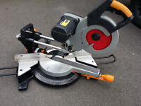 230 V slide out, double bevel chopsaw mitre saw