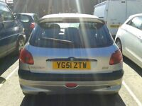 Peugeot 2001, 80,000 looking for good home. Needs new rear axle.