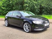 2013 AUDI A3 1.6 TDI NEW MODEL WITH BLACK EDITION STYLING**FINANCE AVAILABLE**(NOT AUDI A1 A4 GOLF)