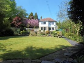 The Mystery House - an exceptional 1920s traditional 5 bedroom stone house with long range views.