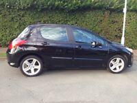 Peugeot 308 1.6 HDi FAP Sport 110 BHP 5dr2008,105500 mileage warranty full service history HPI clear