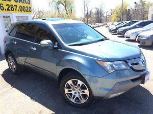 2008 Acura MDX 7 PASS / LEATHER / ROOF / ALLOYS