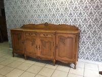 sideboard Oak Louis XV, French style