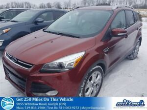 2015 Ford Escape TITANIUM 4X4 SUV! LEATHER! NAVIGATION! PANORAMI
