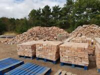 18,000-20,000 reclaimed red facing bricks