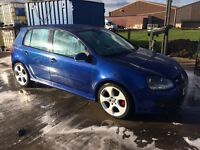 Vw golf Gti 5 door test drive welcome anytime for more details phone Chris on 07973302044