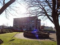 Immaculate one bedroom flat with lovely views, 5 miles from Livingston. Cheap to heat.