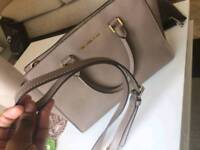 Grey Michael Kors bag