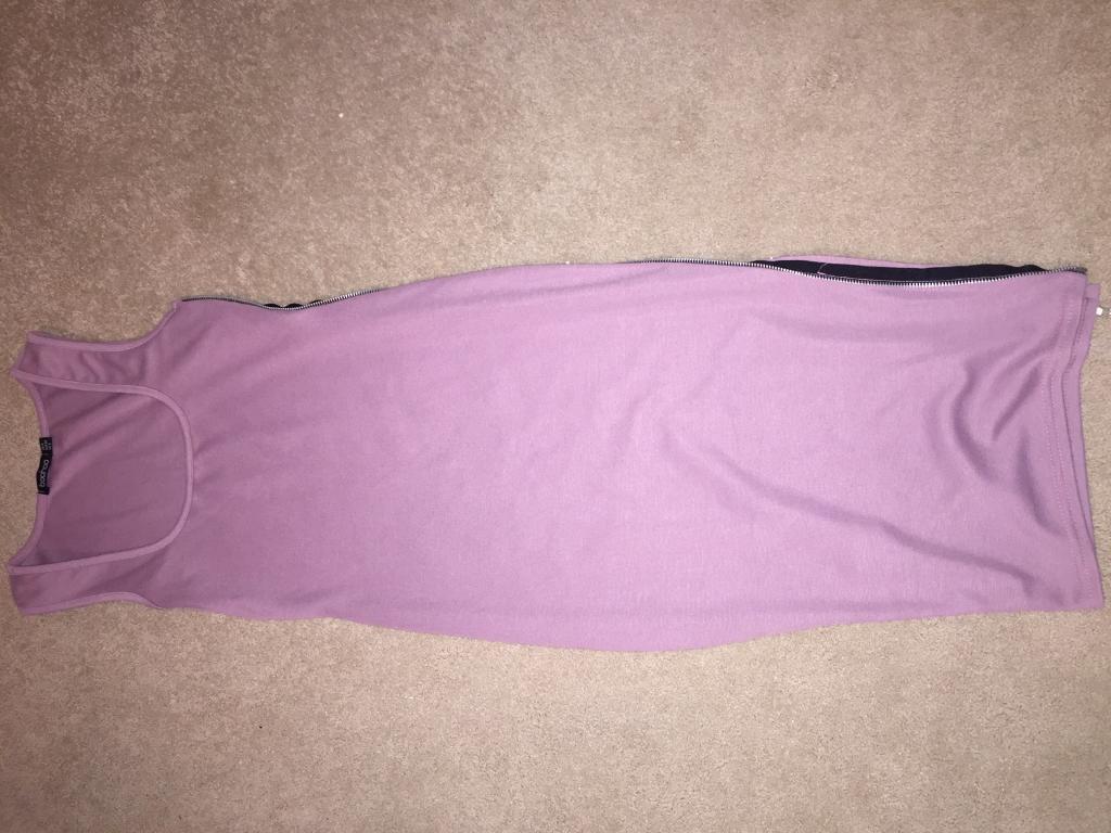 Long purple dress size 6