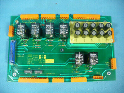 Hurco Bmc-4020 Cnc Mill 415-0224-705 Control Relay 4 Card Circuit Board