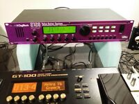Digitech 2120 Artist anaglog valve preamp + FX processor with foot controller in box for sell