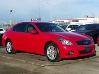 2010 Infiniti G37X Luxury AWD/NAVI/B.CAM/LEATHER/SUNROOF