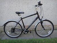 Revolution pathfinder hybrid commuter bike 26 inch wheels 21 gears 20 inch aluminium frame