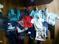 Baby boy clothes 12-24 mths