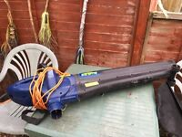 Leaf blower vacuum good condition to big for our needs
