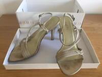 Faith 'Leglo' shoes in beige - size 5 (uk)