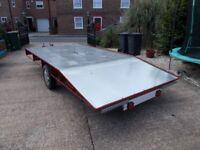Beavertail trailer 14 ft x 6 ft bed