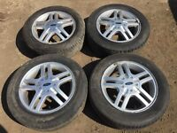 "Ford Focus / fiesta 15"" zetec alloy wheels - good tyres"