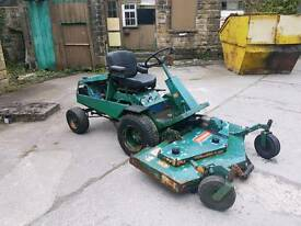 Ransomes bobcat ride in mower tractor