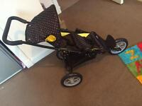 Dolls twin pram new