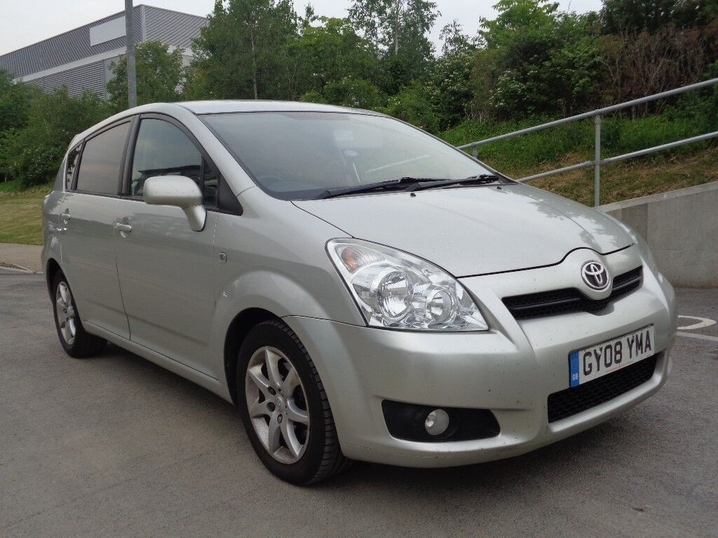 2008 TOYOTA COROLLA VERSO SR,MANUAL DIESEL,7 SEATER,2 KEYS ,FULL