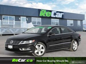 2013 Volkswagen CC Sportline REDUCED   HEATED LEATHER   SUNROOF