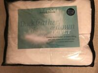 10.5 Tog Duck Feather & Down Duvet - Double Bed
