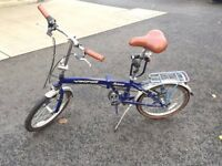 Viking Belmont Folding Bike - 2 years old - Great Condition