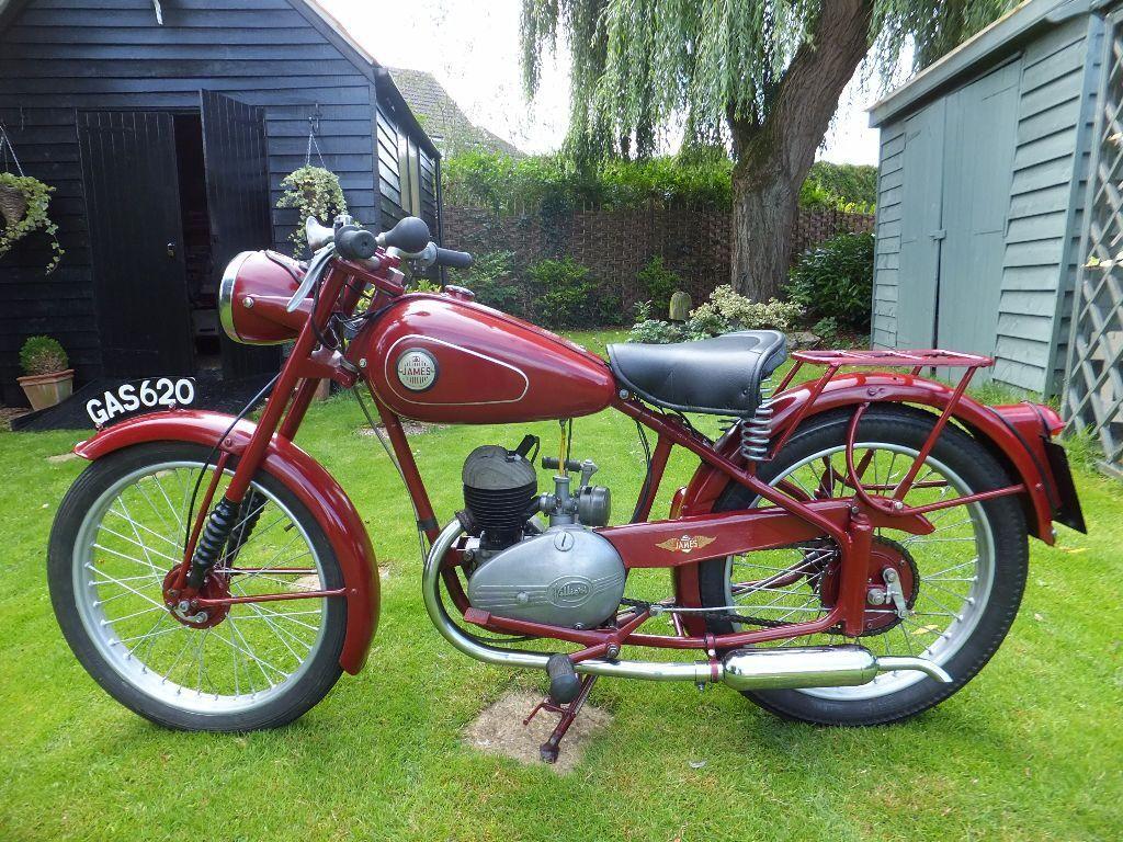 1953 James Cadet J5 125cc 2 Stroke Learner Legal