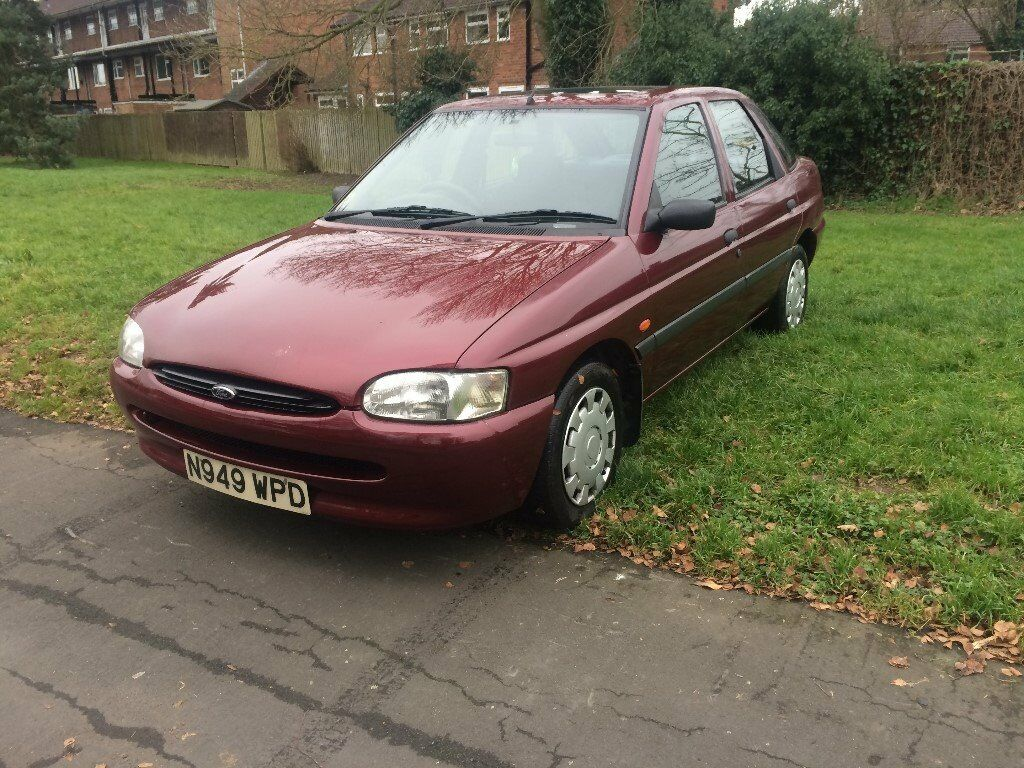 Escort 1.4 Lx Maroon Red 1996