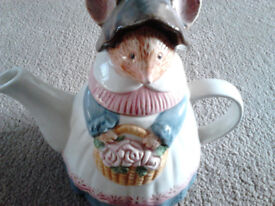 china mouse teapot ornament