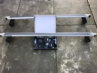 Genuine Mercedes Benz C Class W204 Roof Rail Carrier Bars A2048901493 Easy Fit