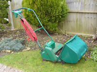Electric cylinder mower, Qualcast Punch Classic 35s (14 inch) with self propulsion and speed adjust