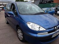 PEUGEOT 807 2.0 HDI 7 SEATER 8 SEATER