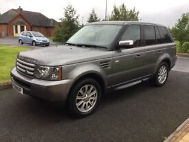 09 RANGE ROVER SPORT 2.7 TDV6 S FSH LEATHER AUTO P/EX WELCOME