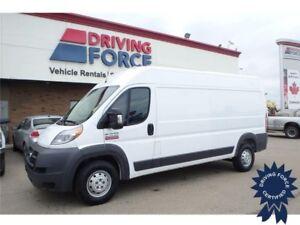 2016 Ram ProMaster Cargo Van Front Wheel Drive - 75,480 KMs