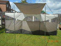 gelert canopy breeze blocker windbreak new