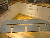 Router jig for worktops and more.