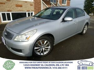 2007 Infiniti G35X AWD! leather! Sunroof!