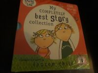 Charlie and Lola My Completely Best Story Collection 5 books and CD - Lauren Child Brand New £5