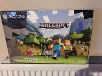 Xbox one S Minecraft bundle - selling cheap - NEW Model