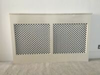 Large Radiator Cover Solid Wood White - £45 - MUST GO!
