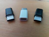 Micro USB to USB 3.1 Type-C Adapter