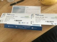 Aegon championships quarterfinal tickets x2 Friday June 23rd!